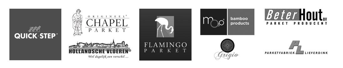 Logo's Parket Merken - Vloer verkoop - Boekel Parket