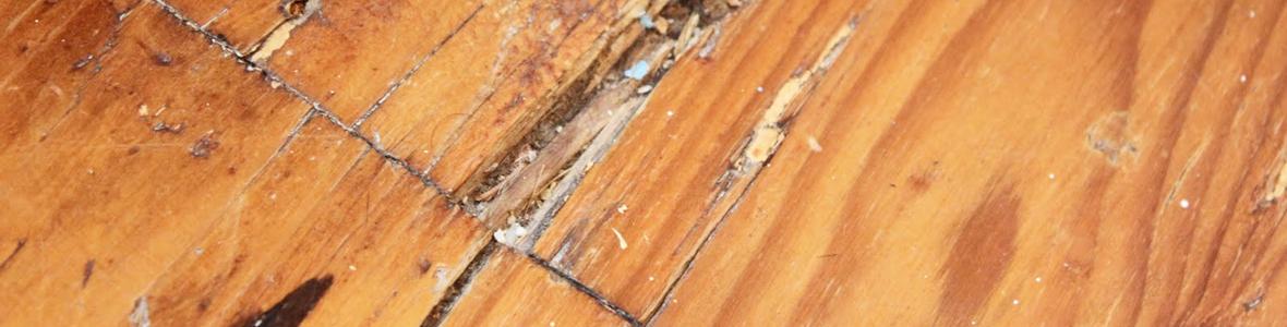 Schade aan uw houten vloer - Boekel Parket